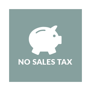 No Sales Tax - On All Products