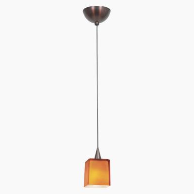 Access Lighting 90918 Alpha - One Light Low Voltage Pendant with Hermes Glass