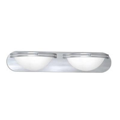 Access Lighting 20452GU-BS/WHT Aztec- Two Light Wall/Vanity Mount
