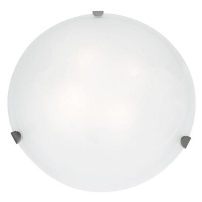 Access Lighting 20726LEDD-BS/OPL Atom- One Light Flush Mount