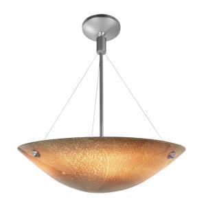Safari- Three Light Italian Glass Cable Pendant