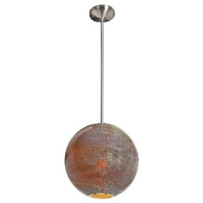 Access Lighting 23640-BS/SAO Safari-- One Light Pendant