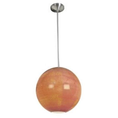 Access Lighting 23642-BS/SAO Safari-- One Light Pendant