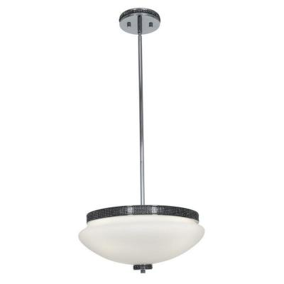 Access Lighting 23867-CH/OPL Onyx - Three Light Pendant
