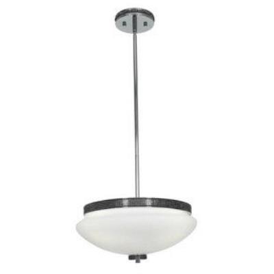 Access Lighting 23867-CH/OPL Onyx - Three Light Pendant