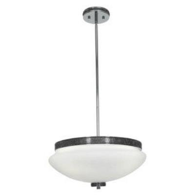 Access Lighting 23868-CH/OPL Onyx - Four Light Pendant