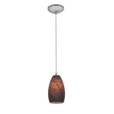 Access Lighting 28812-BS/BRST Tali Inari Silk - One Light Pendant