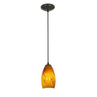 Access Lighting 28812-ORB/ASKY Tali Inari Silk - One Light Pendant