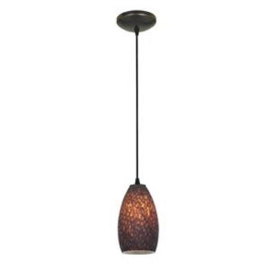 Access Lighting 28812-ORB/BRST Tali Inari Silk - One Light Pendant