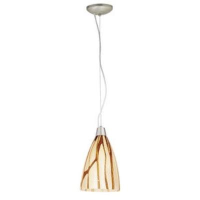 Access Lighting 28025-2R-BS/LAV Julia - One Light Italian Art Pendant