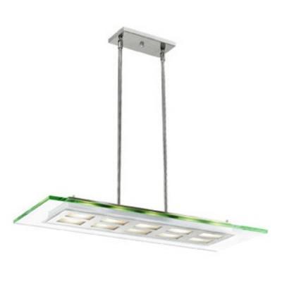 Access Lighting C50110BSCLREH3418Q Aquarius - Four Light Adjustable Pendant