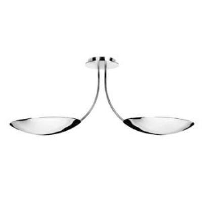 Access Lighting 50152-CH Krome-- Two Light Semi-Flush