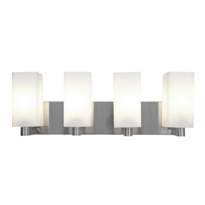 Access Lighting 50178-BS/OPL Archi - Four Light Wall/Bath Vanity