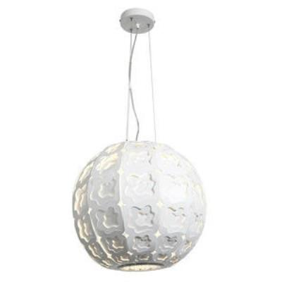 Access Lighting 50991-CRM/FST Lacey - One Light Cable Ball Pendant