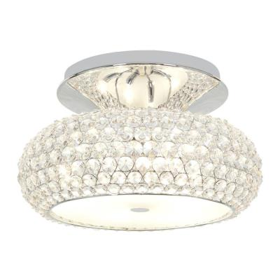 Access Lighting 51002-CH/CCL Kristal - Three Light Semi-Flush Mount