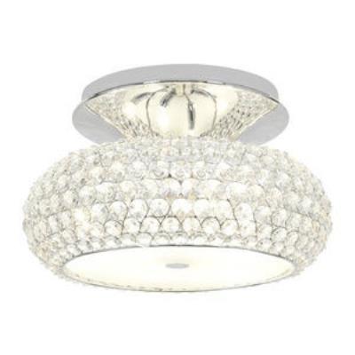 Access Lighting 51002-CH/CCL Kristal - Three Light Semi-Flush Mount