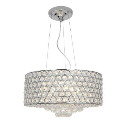 Access Lighting 51004-CH/CCL Kristal - Six Light Cable Pendant