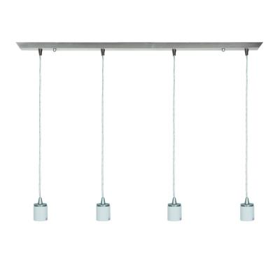 Access Lighting 52024FC-BS Quada - Four Light Bar Pendant Assembly