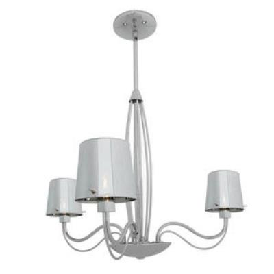 Access Lighting 55532-CH/CHR Milano- Three Light Chandelier