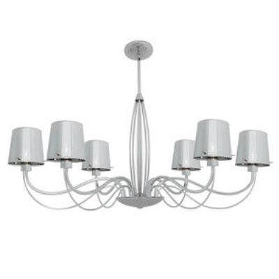 Access Lighting 55533-CH/CHR Milano- Six Light Chandelier