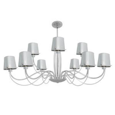 Access Lighting 55534-CH/CHR Milano- Nine Light Chandelier
