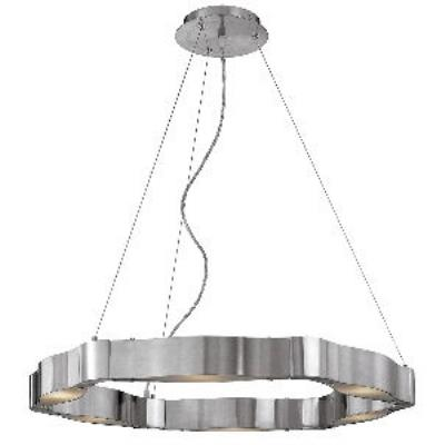 Access Lighting 62317 Titanium - Six Light Cable Chandelier