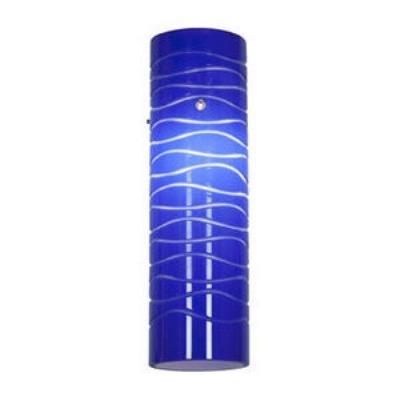"Access Lighting 932V-BLULN Anari Silk- - 10"" Glass"