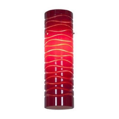"Access Lighting 932V-REDLN Anari Silk- - 10"" Glass"