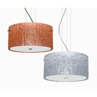 Besa Lighting Tamburo 16v2 Pendant-1 Tamburo 16v2 - Three Light Cable Pendant with Flat Canopy
