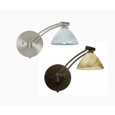 Besa Lighting Domi Swing Domi - One Light Swing Arm Wall Sconce with Cord and Plug Kit