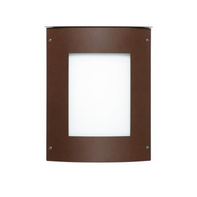 Besa Lighting Moto 8 Square Outdoor Moto 8 - One Light Outdoor Square Wall Sconce
