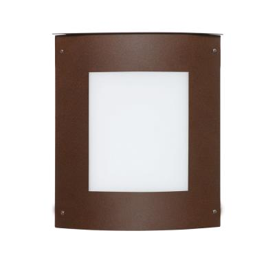 Besa Lighting Moto 11 Square Outdoor Moto 11 - One Light Outdoor Square Wall Sconce