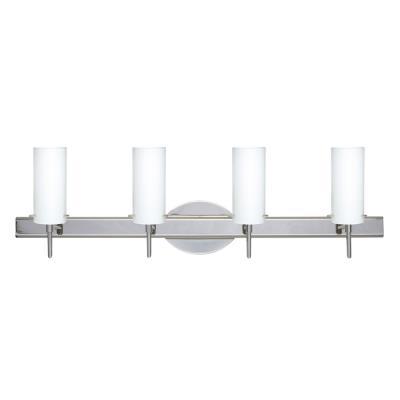 Besa Lighting Copa 3 Wall-4 Copa 3 - Four Light Bath Vanity