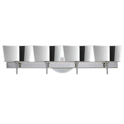 Besa Lighting Groove Wall-4 Groove - Four Light Bath Vanity