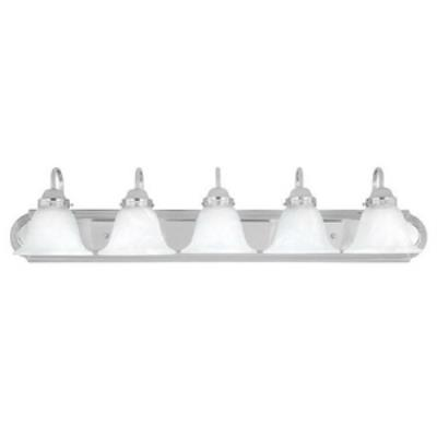 Capital Lighting 1035CH-118 Five Light Bath Bar