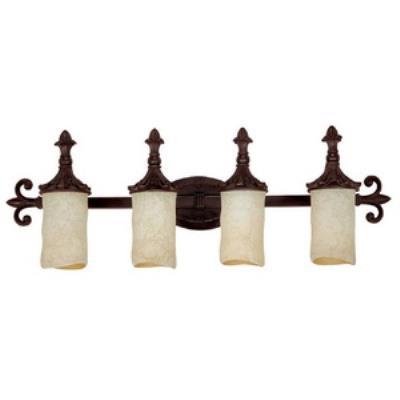 Capital Lighting 1044MBZ-125 Mediterranean - Four Light Bath Vanity