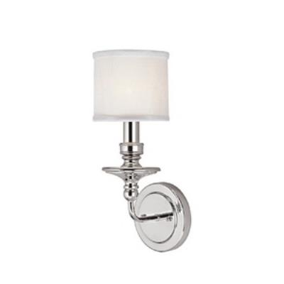 Capital Lighting 1231PN-451 Midtown - One Light Wall Sconce