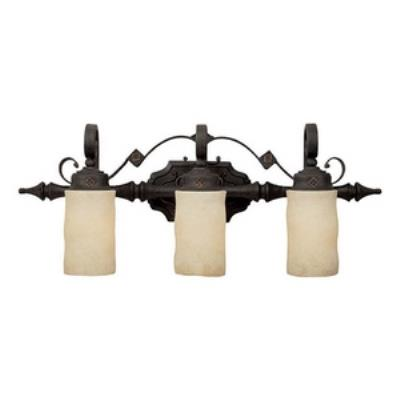 Capital Lighting 1903RI-125 River Crest - Three Light Bath Vanity