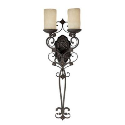 Capital Lighting 1909RI-125 River Crest - Two Light Wall Sconce