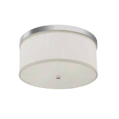 Capital Lighting 2015PN Midtown - Three Light Flush Mount