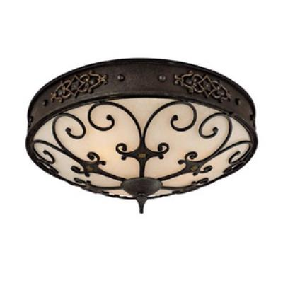 Capital Lighting 2287RI River Crest - Three Light Flush Mount