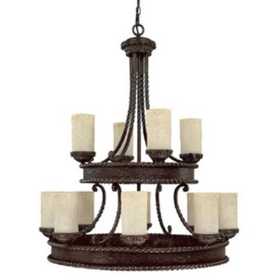 Capital Lighting 3052WB-261 Highlands - Twelve Light Chandelier