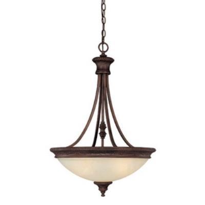 Capital Lighting 3564BB Hill House - Three Light Pendant