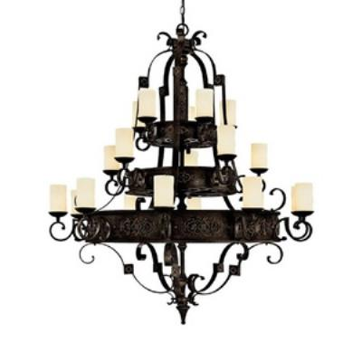Capital Lighting 3600RI-125 River Crest - Twenty Light Chandelier