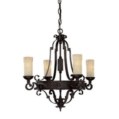 Capital Lighting 3604RI-279 River Crest - Four Light Chandelier