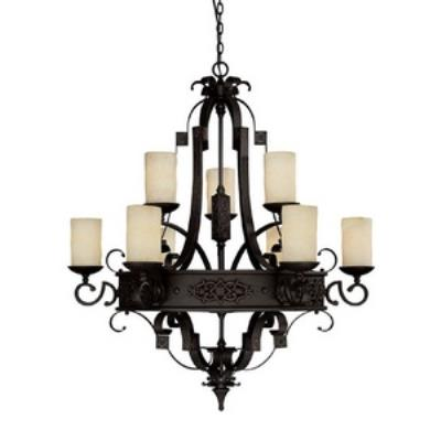 Capital Lighting 3609RI-125 River Crest - Nine Light Chandelier
