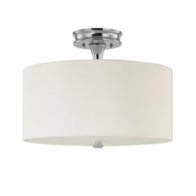 Capital Lighting 3874PN-496 Studio - Three Light Semi-Flush Mount