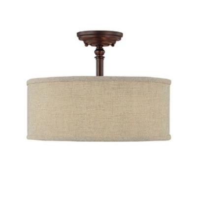 Capital Lighting 3923BB-479 Loft - Three Light Semi-Flush Mount