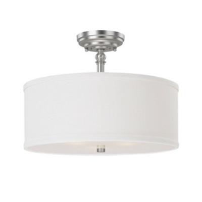 Capital Lighting 3923MN-480 Loft - Three Light Semi-Flush Mount