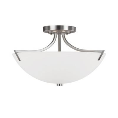 Capital Lighting 4037BN Stanton - Three Light Semi-Flush Mount